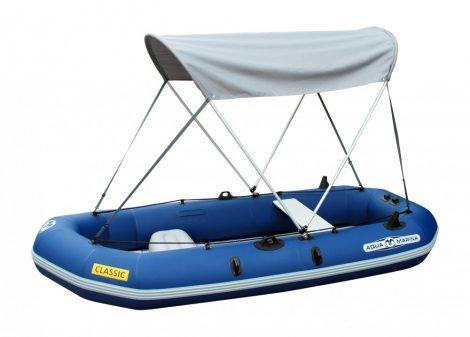 CLASSIC gumicsónak Aqua Marina + motortartó + Bimini tető